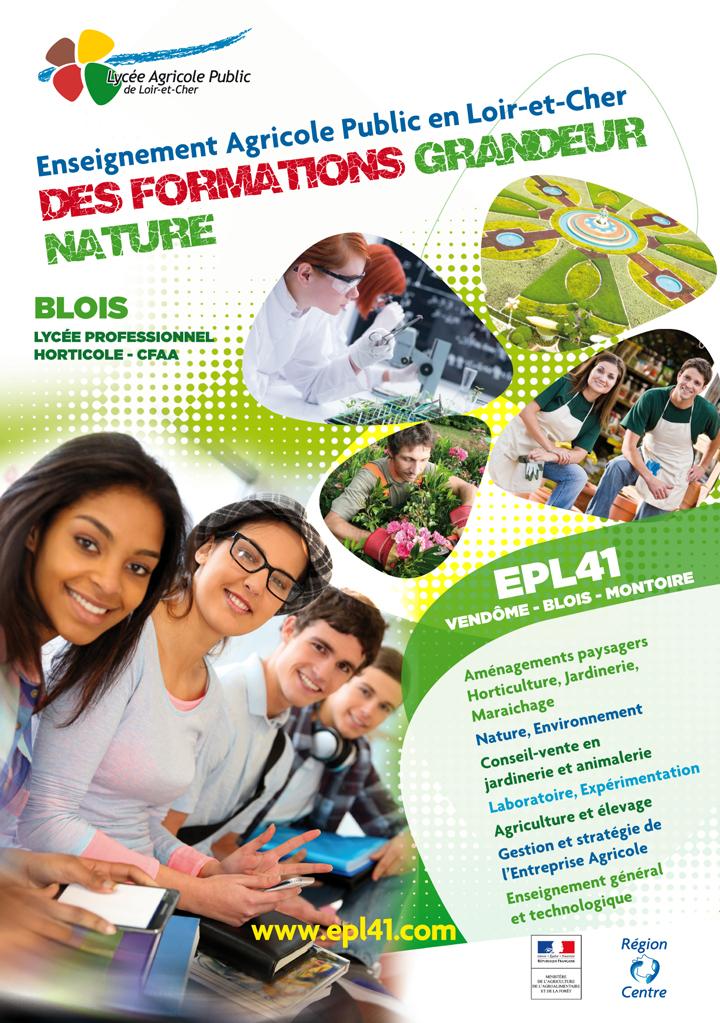 plaquette lycée et CFA agricole Blois