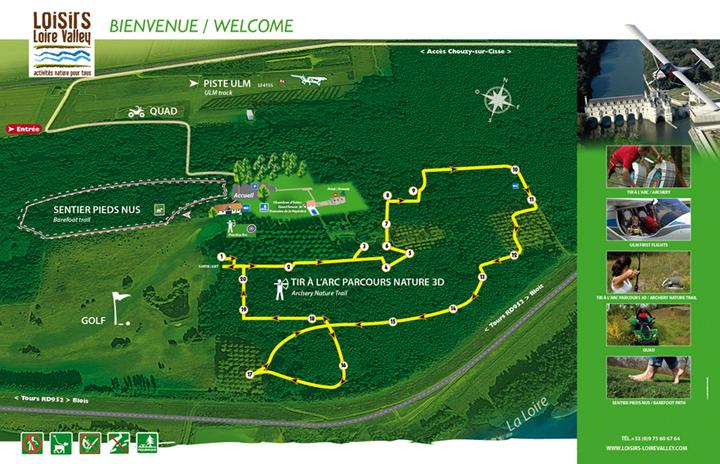 Plan d'orientation Loisirs Loire Valley