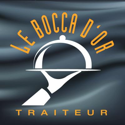 """Remise en forme du logo """"Le Bocca D'or"""