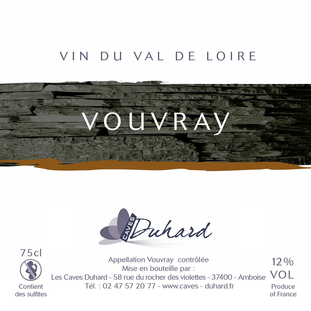 Charte d'étiquettes par vins